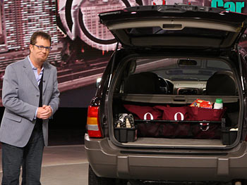 Peter Walsh shares ideas on keeping a car clutter-free.
