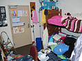 How to declutter dorm rooom disasters