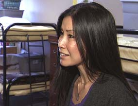 Lisa Ling visits a homeless shelter in Sacramento.