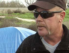 Jim, now homeless, spends 60 percent of his day trying to get clean.