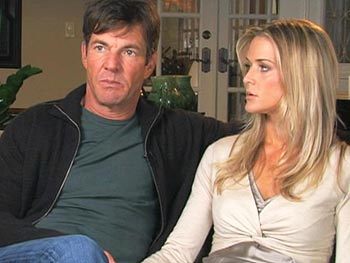 Dennis Quaid talks about the medical mistake that threatened his infants' lives.