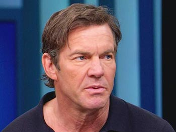 Dennis Quaid hopes his family's story raises public awareness.