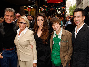 John Walsh and his wife Reve have had three children since Adam.