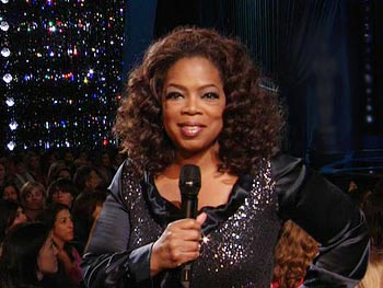 Oprah at the Kodak Theatre