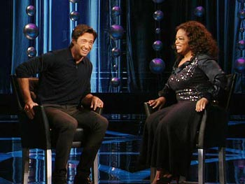 Hugh Jackman and Oprah