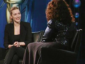 Kate Winslet on her daughter's reaction to her dress
