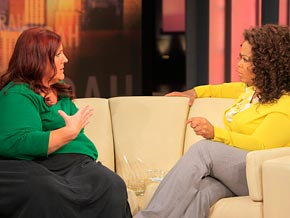 Ruby Gettinger tells Oprah about her weight loss journey.