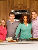 Cat Cora, Tyler Florence, Oprah and Curtis Stone