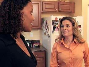 Cat Cora helps Robin break her family free from a frozen food rut.
