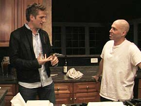 Chef Curtis Stone stages a takeout intervention for Matt and Melissa.