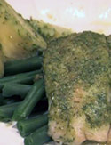 Tilapia with Homemade Pesto