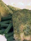 Tilapia with Homemade Pesto