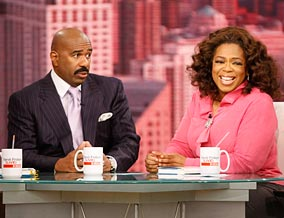 Steve Harvey says good men want to keep their women safe.