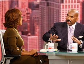 Steve Harvey says women needs to set high standards when dating.