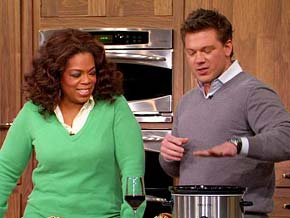 Tyler Florence calls the slow cooker a recession buster.