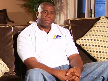 Magic Johnson talks about his HIV diagnosis.