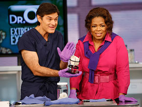 Dr. Oz shows Oprah how doctors are growing new body parts in laboratories.