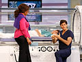 Dr. Oz in an oxygen chamber
