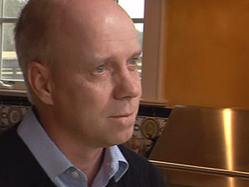 Figure skater Scott Hamilton was diagnosed with cancer.