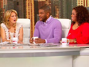 Oprah and Gayle King talk about Tyler Perry's Bentley.