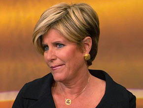 Suze Orman urges everyone to save as much as possible.