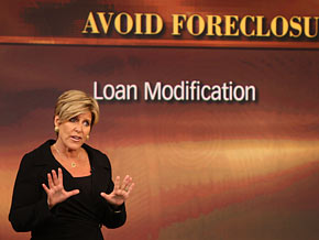 Suze Orman explains the government's mortgage assistance program.