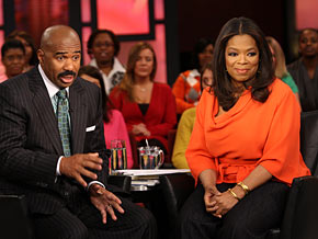 Steve Harvey says women must set standards for the men in their lives.