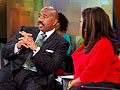 Steve Harvey reveals a dating trick.