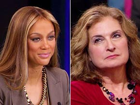 Tyra Banks says Vicki, a woman who lost her daughter to an abusive boyfriend, reminds her of her own mom.
