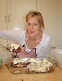 Ali Wentworth with her cinnamon buns