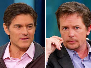 Dr. Oz says people learn to look past Michael J. Fox's disease.