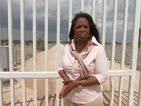 Oprah visits the Yearning for Zion Ranch.