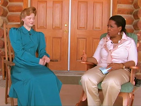 Oprah interviews Betty at the Yearning for Zion Ranch.