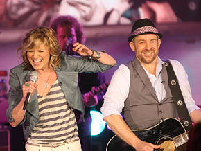 Sugarland's Jennifer Nettles and Kristian Bush
