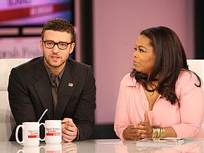 Justin Timberlake on romance