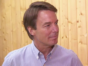 Oprah talks to John Edwards.