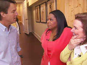 Oprah, John and Elizabeth Edwards