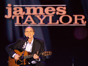 James Taylor on what he's most grateful for