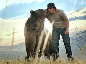 Casey Anderson and Brutus the Bear are best friends.