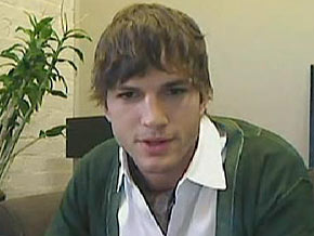 Ashton Kutcher uses Twitter to raise awareness.