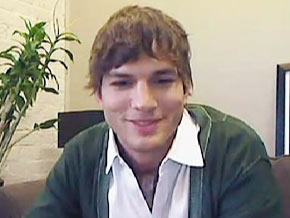 Ashton Kutcher beat CNN to the 1 million mark on Twitter.