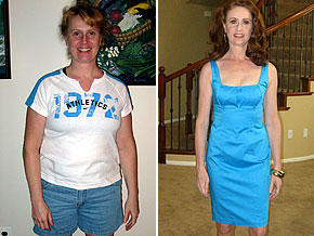 Jillian lost weight with Dr. Oz's help.