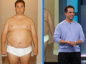 James lost 115 pounds.