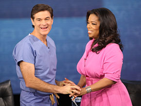 Dr. Oz talks about the first time he got a call from Oprah Show producers.