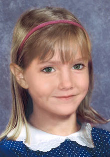 Madeleine McCann, age 6