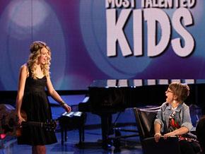 Taylor Swift surprises Jordan with a new guitar.