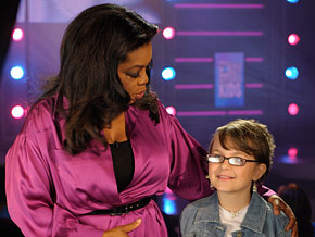 Jordan is co-hosting the talent show with Oprah.