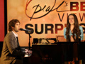 Josh Groban serenades Savanna.