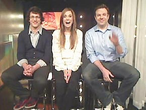 Andy Samberg, Kristen Wiig and Jason Sudeikis