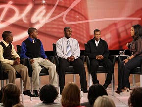 Oprah, Elijah, Jaiquann, Darien and Barien